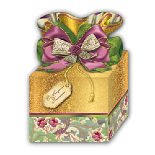 294, Коробка 0,8кг 145х100х120 Шарм (100), 27060220, 20 800  руб., 27060220, FIESTA, Подарочная упаковка