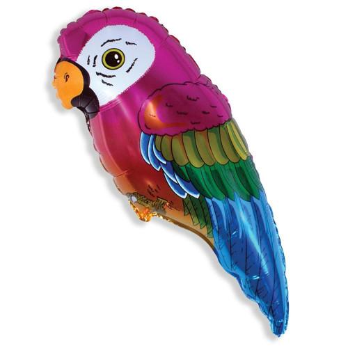 """375, Шар самодув Ф-8 """"Попугай красный"""" без палочек(40см), 27030015, 25  руб., 27030015, FIESTA, Воздушные шары"""
