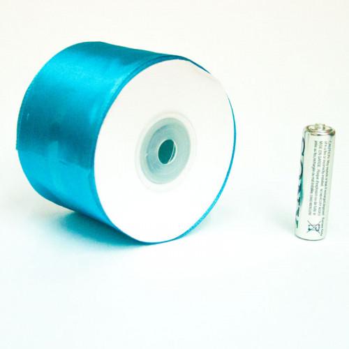 376, Лента атласная, 25м*5см (синяя), sev13091, 160  руб., sev130914, , Колпачки, короны