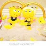 444, Кольца на машину / влюбленные пчелки, sev130993, 1 200  руб., sev130993, SuperLink,